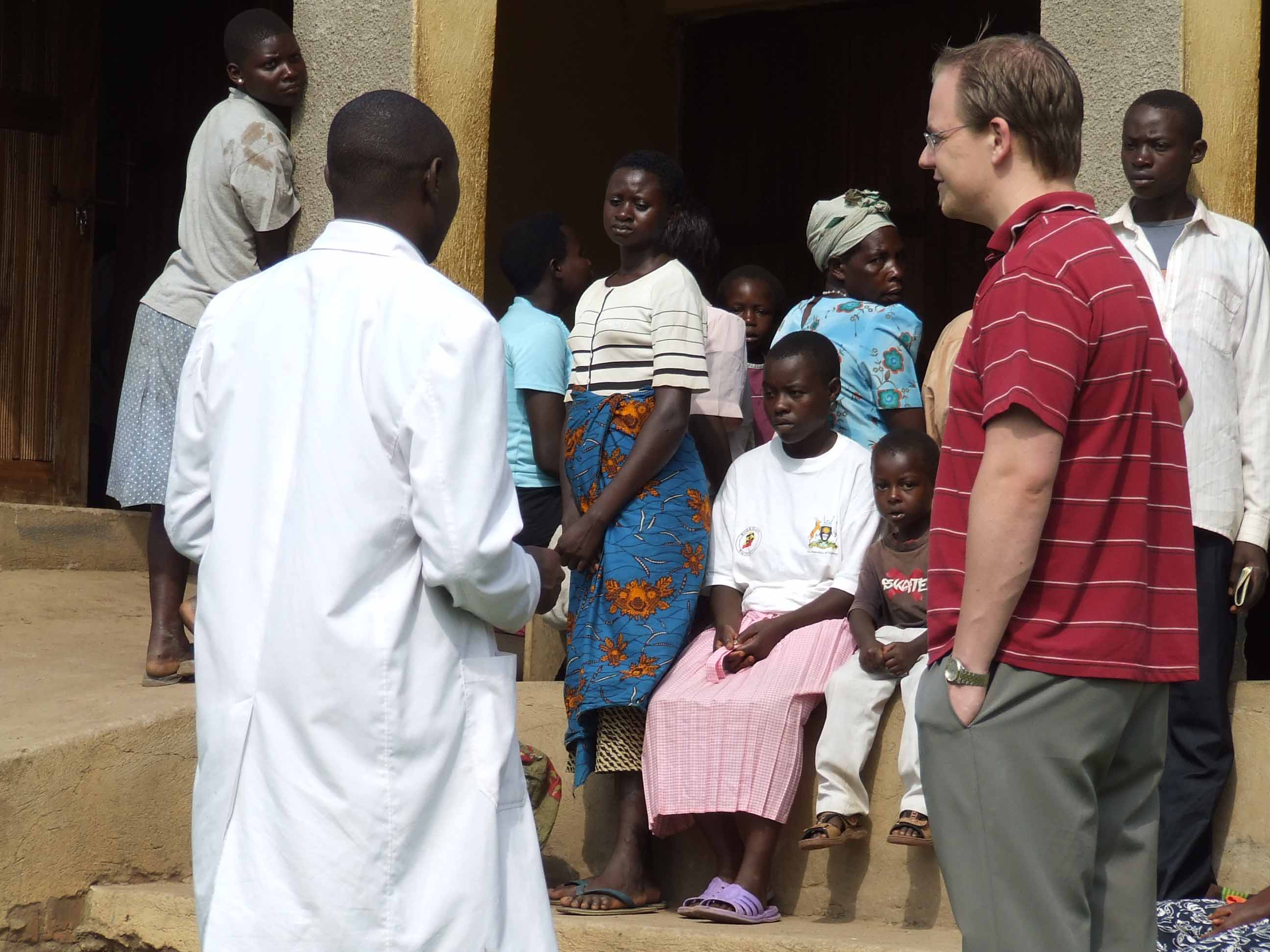 health clinic in Uganda